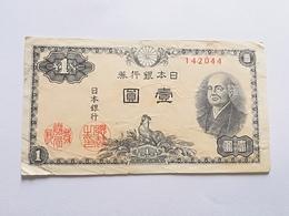 GIAPPONE 1 YEN 1946 - Giappone