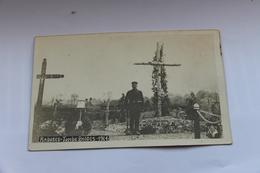38256  -   Rabosée  Tombes  Belges  1914  -  Carte  Photo - Blegny