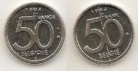 50 Frank 1994  Frans+vlaams * Uit Muntenset * FDC - 1993-...: Albert II
