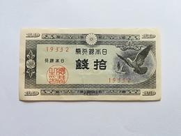 GIAPPONE 10 SEN 1947 - Giappone