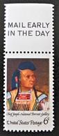 CHEF INDIEN DE LA TRIBU DES NEZ PERCES 1968 - NEUF ** - YT 866 - MI 973 - HAUT DE FEUILLE - United States
