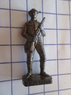 Figurine KINDER ??? MONOBLOC METAL VIEIL OR / COW-BOY TILGHMAN , Très Bon état, Vu à 10 € Et + Chez I-B - Figurines En Métal