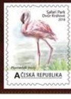 Czech Republic 2018 - Self-adhesive Personaled Stamp ZOO-Safari  Dvur Kralove Nad Labem  From MS II, MNH - Flamingo