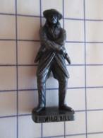 Figurine KINDER ??? MONOBLOC METAL BRONZE / COW-BOY WILD BILL , Très Bon état, Vu à 4.99 € Et + Chez I-B - Figurines En Métal