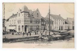 Willebroeck  - Entrée De La Rue Neuve Et Canal - Willebroek