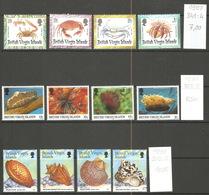 Vierges, 1997-99, Lot Divers - Iles Vièrges Britanniques