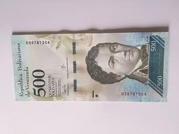 VENEZUELA 500 BOLIVARES 2017 UNC CRISPY - Venezuela