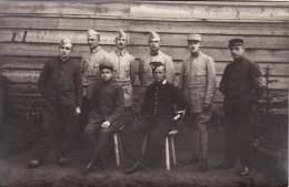 CP Photo 14-18 Camp De GUSTROW, Prisonniers Français (photo Louis Postif) (A93, Ww1, Wk 1) - Weltkrieg 1914-18