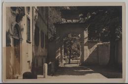 Bondo - Palazzo Von Salis, Hofpartie - Photo: J. Gaberell - GR Grisons