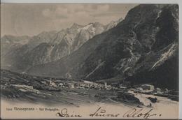 Vicosoprano (Val Bregaglia) Generalansicht - Photo: Wehrli - GR Grisons