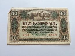 UNGHERIA 10 KORONE 1920 - Ungheria