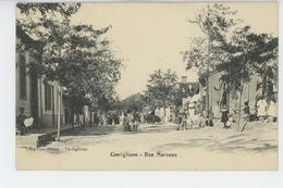 AFRIQUE - ALGERIE - CASTIGLIONE - Rue Marceau - Other Cities
