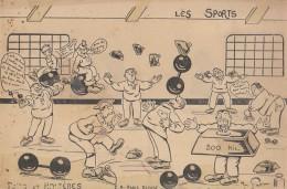 Les Sports Poids Et Halteres (LOT BBB) - Humour