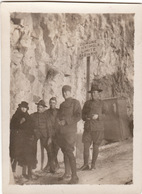 Photo 1919 VENTIMIGLIA - Soldats Américains à La Frontière Franco-italienne (A132, Ww1, Wk 1) - Imperia