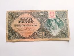 UNGHERIA 1000 PENGO 1945 - Ungheria