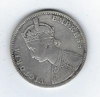 British India Victoria Empress One Rupee India 1885 - Inde