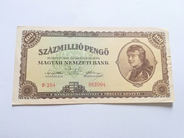 UNGHERIA 100 MILLIO PENGO 1946 - Hungary