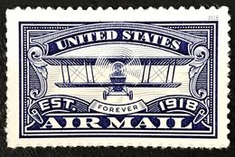 US Stamps 2018. -   United States Air Mail. Blue. Single MNH 2018 - Unused Stamps