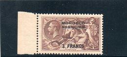 MAROC 1935-7 ** - Bureaux Au Maroc / Tanger (...-1958)