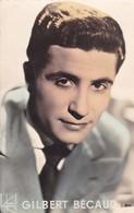 GILBERT BECAUD. SINGER. CIRCA 1950's. VOYAGEE.-BLEUP - Cantanti E Musicisti