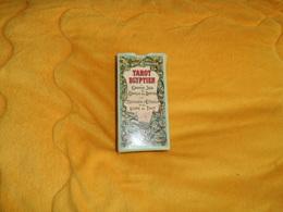 ANCIEN TAROT EGYPTIEN GRAND JEU DE L'ORACLE DES DAMES + NOTICE. - Tarots