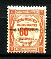 Taxe  48 - 60c Rouge - Oblitéré - Très Beau - Impuestos