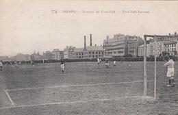 CPA  76 - DIEPPE - Terrain De Foot-Ball - Foot-ball Ground - Football - Dieppe
