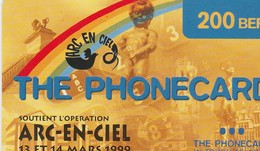 ARC  EN CIEL / THE PHONECARD 1999 - Belgique