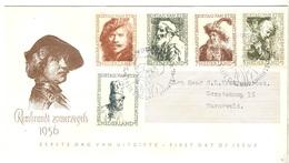 Pays-Bas YT N° 649/653 Oblitérés Sur Enveloppe FDC. TB. A Saisir! - FDC
