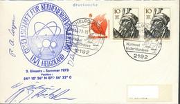 Deutschland -Berlin  Helgoland  UWL Helgoland Kernenergieverwertung  Mit Unterschrift - Covers