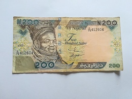 NIGERIA 200 NAIRA - Nigeria