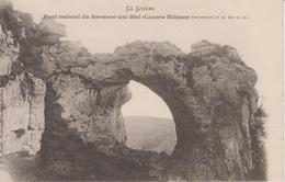 Pont Naturel Du Baousse Del Biel ( Causse Méjean)  CPA Dos Simple - France