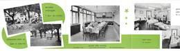 DEPLIANT PUBLICITAIRE POUR LE RESTAURANT AUX BEAUX OMBRAGES A TASSIN 69 - Advertising