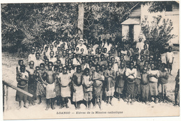 CONGO FRANCAIS , LOANGO - Elèves De La Mission Catholique - Congo Français - Autres