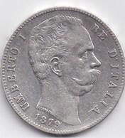 ITALIE - UMBERTO I - 5 L 1879 R - 1861-1946 : Regno