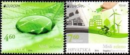 CEPT / Europa 2016 Croatie N° 1137 Et 1138 ** L'écololgie - Europa-CEPT