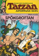 Tarzan Apornas Son Nr 8 - (In Swedish) Williams Förlags - Spökgrottan - 1974 - John Celardo - BE - Livres, BD, Revues