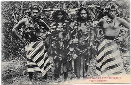 CPA Tahiti Océanie Océania Polynésie Non Circulé Types - Tahiti