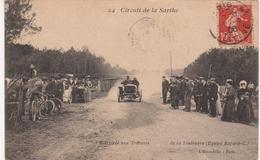 Cpa Dept 72 - SCEAUX SUR HUISNE-Circuit De La Sarthe Arrivée Aux Tribunes De La Touloubre - Autres Communes