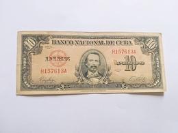 CUBA 10 PESOS 1949 - Cuba