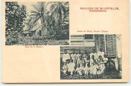 Saludes De Bluefields NICARAGUA - Casa En El Monte - Indios De Klilna - Depart - Zelaya - Nicaragua