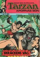 Tarzan Apornas Son Nr 11 - 1974 (In Swedish) Williams Förlags - Skräckens Väg - John Celardo - BE - Livres, BD, Revues