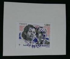 France 2018 Lucie Et Raymond Aubrac  Oblitéré - France