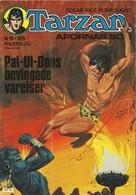 Tarzan Apornas Son Nr 19 - 1976 (In Swedish) Semic Press - Pal-Ul-Dons Bevingade Varelser - Russ Manning - BE - Langues Scandinaves