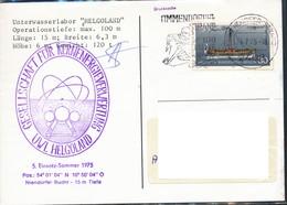 Deutschland -  Helgoland  UWL Helgoland Kernenergieverwertung  1975 - Covers