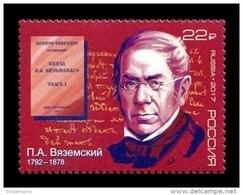 Russia 2017 Mih. 2456 Historian Pyotr Vyazemsky MNH ** - 1992-.... Föderation