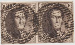 COB N° 6 - En Paire - Belles Marges - 1851-1857 Medallions (6/8)