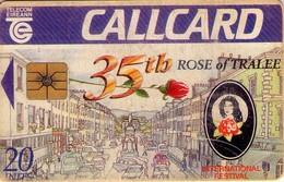 TARJETA TELEFONICA DE IRLANDA, 35TH ROSE OF TRALEE. 1046 (020) REGULAR - Irlanda
