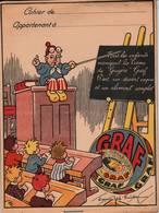 RARE - Protège-Cahier Publicitaire GRAF - Illustrateur Joë Bridge - 2 Scan - Alimentaire
