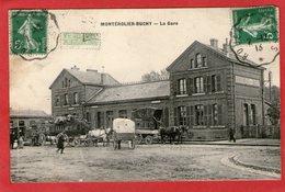 MONTEROLIER-BUCHY - La Gare - 1913 - - France